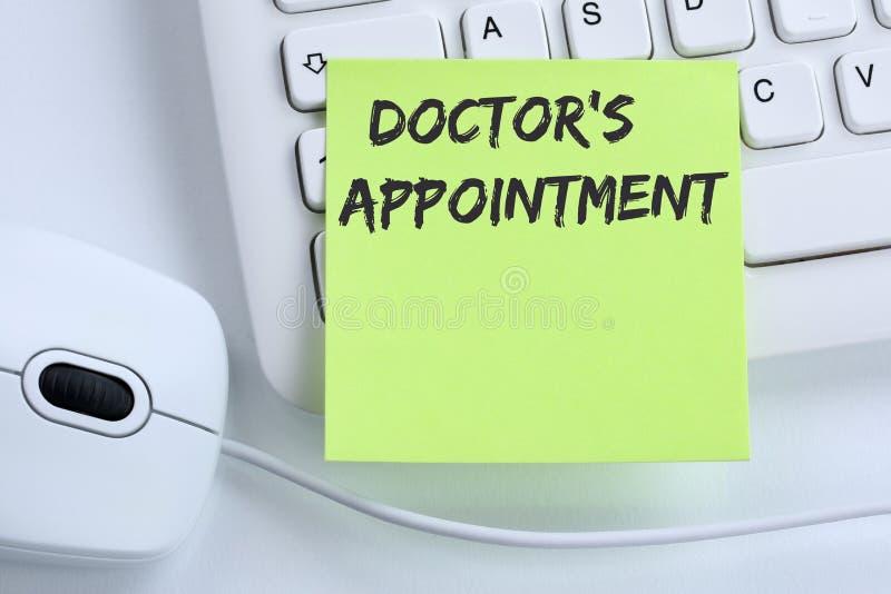 För doktors` s sund medicinsk för tidsbeställning för doktor för medicin sjukdom dåligt royaltyfri fotografi