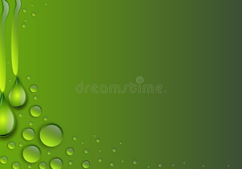 för droppbild för bakgrund 3d vatten vektor illustrationer