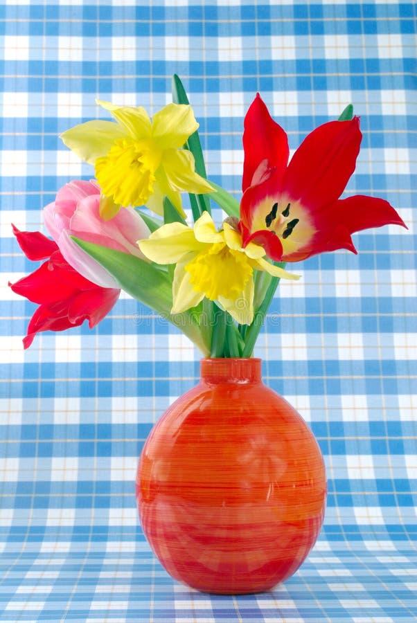 för easter för bakgrund färgrika tulpan blomma arkivfoto
