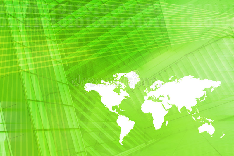 för ekonomiöversikt för bakgrund digital värld royaltyfri illustrationer