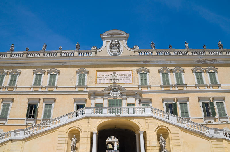För Emilia Italy För Colorno Ducal Romagna Slott Fotografering för Bildbyråer