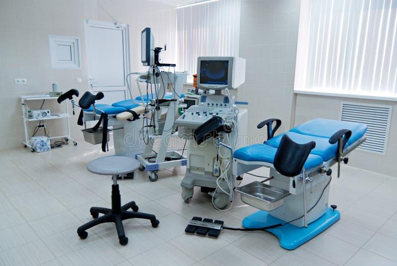 för födseln klinik royaltyfria bilder