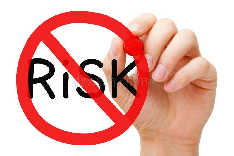 För förbudtecken för risk fritt begrepp fotografering för bildbyråer