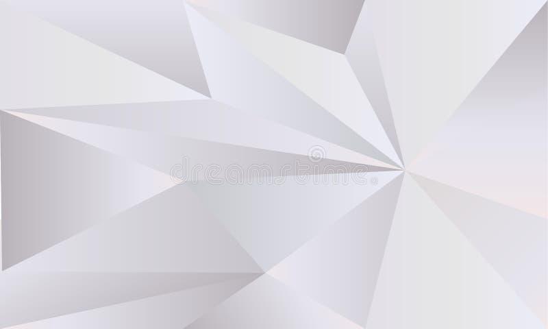 För foliepapper för geometrisk fractal monokrom textur vektor illustrationer