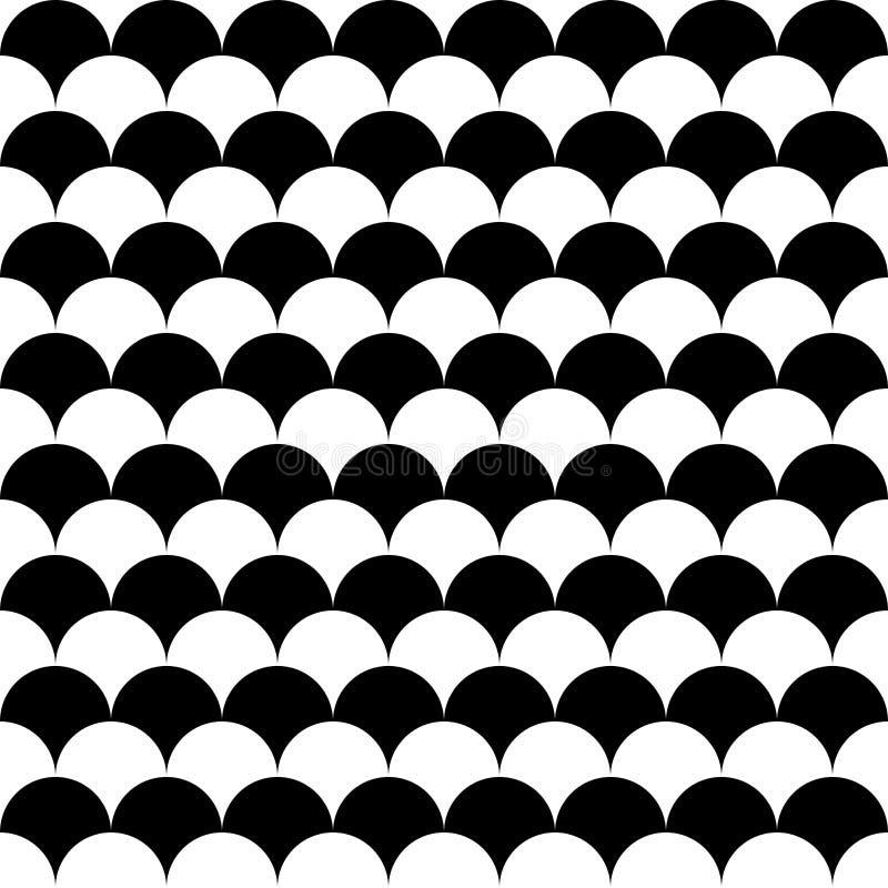 För geometrimodell för vektor moderna sömlösa bollar royaltyfri illustrationer