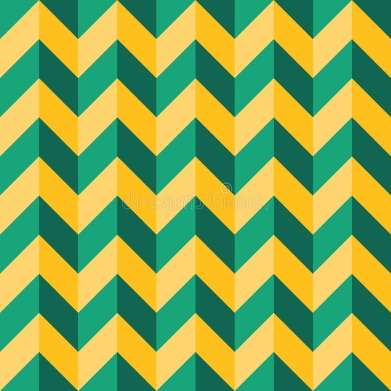 För geometrisparre för vektor mönstrar färgar moderna sömlösa färgrika linjer, gräsplangulingabstrakt begrepp stock illustrationer