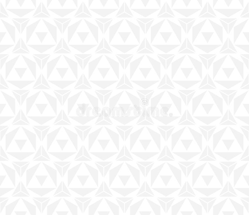 För geometritriangel för vektor modern abstrakt modell grå sömlös geometrisk bakgrund vektor illustrationer