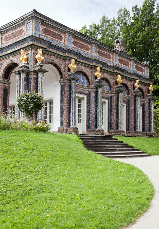 för germany för bayreuth dereremitage schloss neues royaltyfria foton