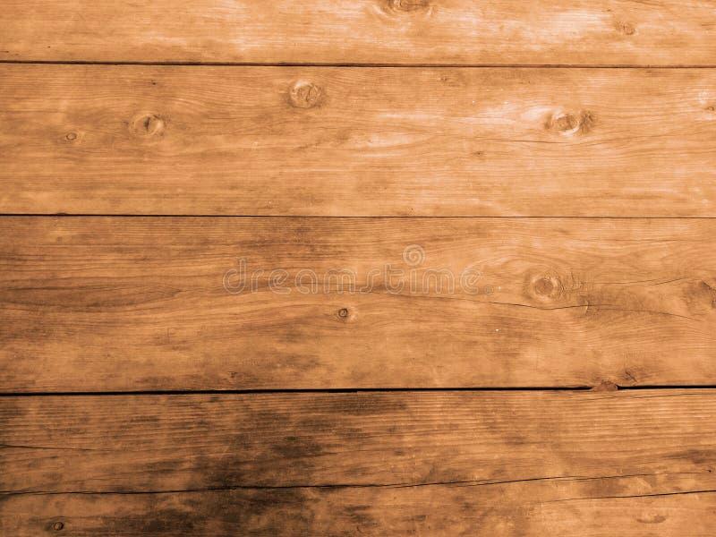 För golvbakgrund för tappning Wood textur tonfärg fotografering för bildbyråer