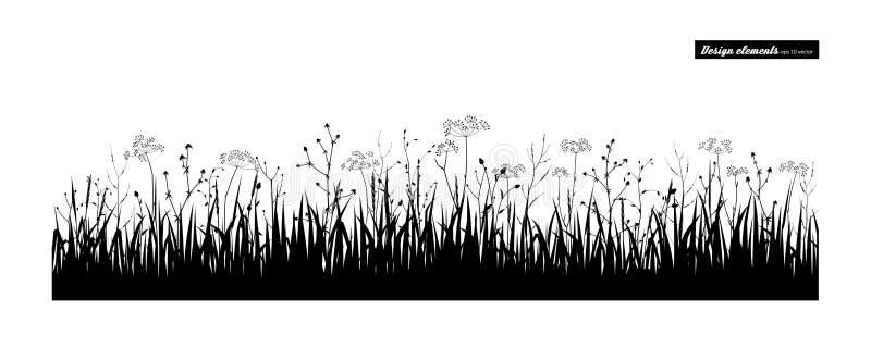för gräs ditt ängbruk idealt vektor illustrationer
