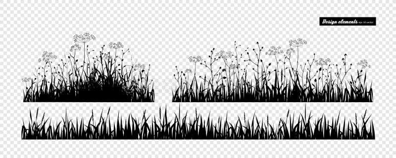 för gräs ditt ängbruk idealt stock illustrationer