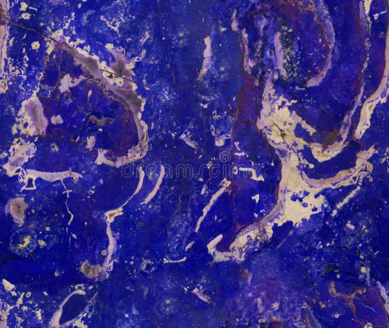 För granitmarmor för blå marin naturlig sömlös bakgrund för modell för textur för sten För marmortextur för grov naturlig sten sö arkivbilder