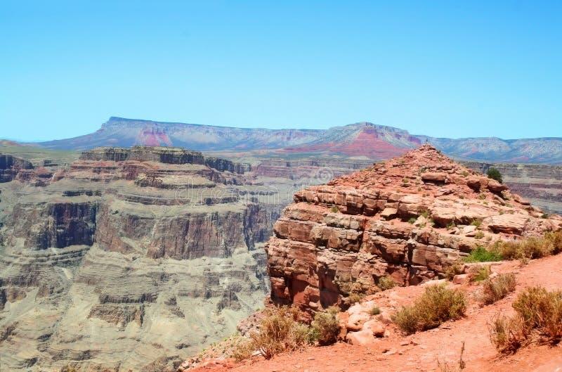 för guanopunkt för kanjon västra storslagen kant royaltyfria foton