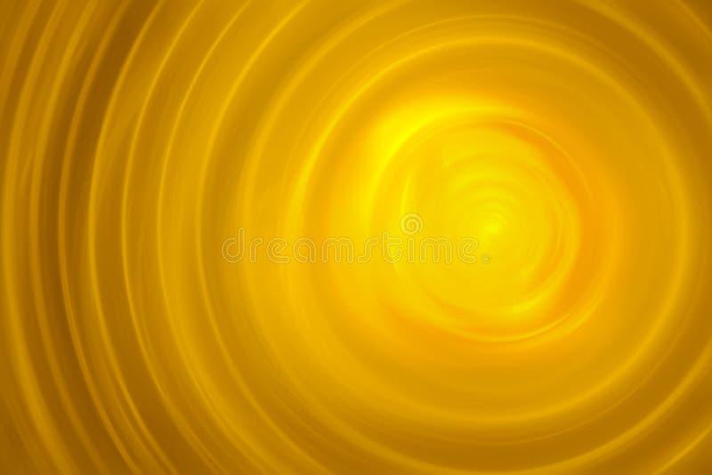 för guldillustration för fractal 3d smält yttersida vektor illustrationer