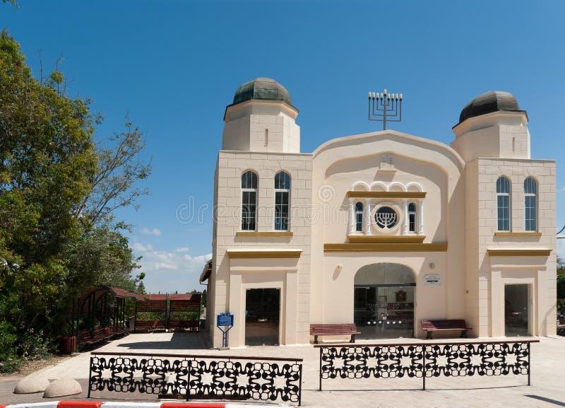för hagadolknesset för beit stor synagoga arkivfoto