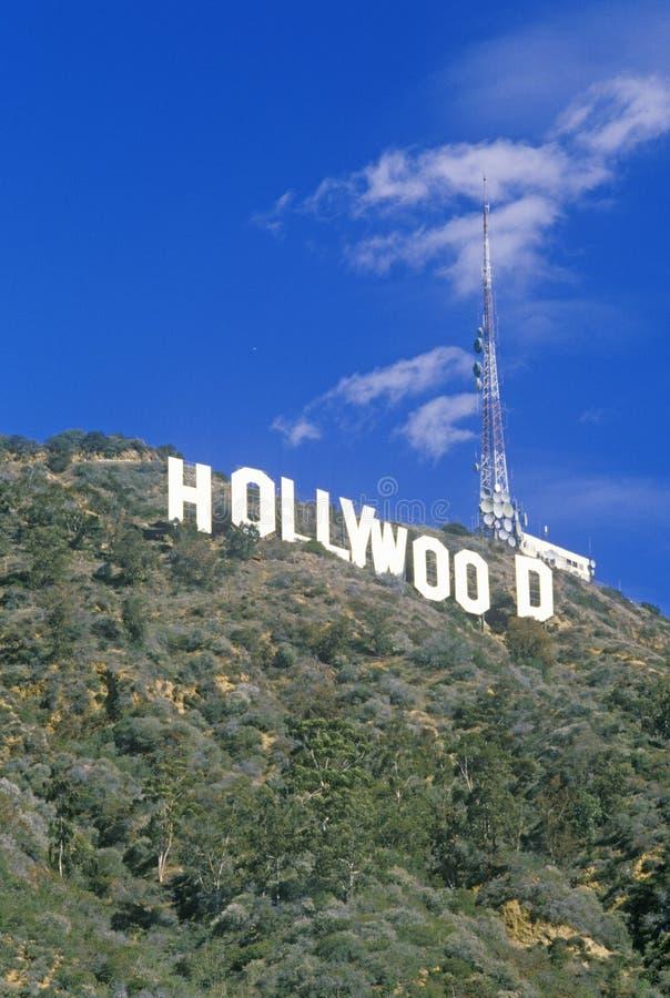 för Hollywoodï för ï¿ ½ tecken för ½ ¿ på backarna av Hollywood, Los Angeles, Kalifornien royaltyfri fotografi