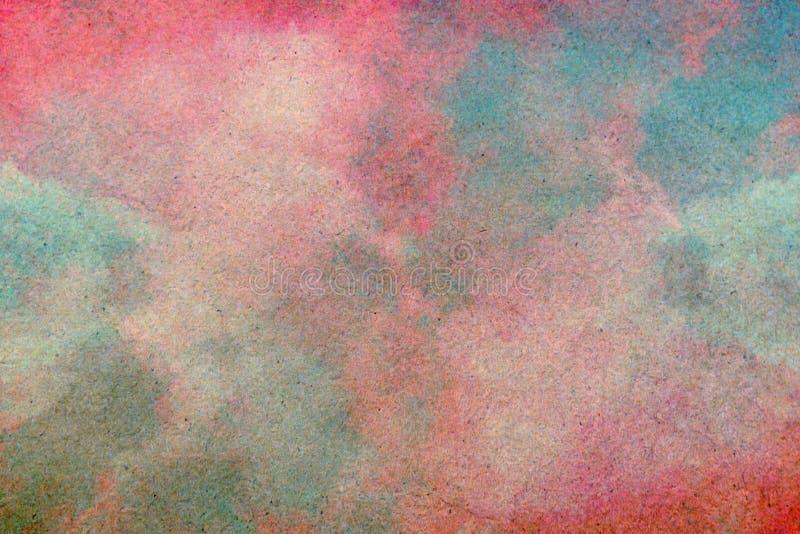 För illustrationkonst för himmel och för moln abstrakt bakgrund, royaltyfria foton