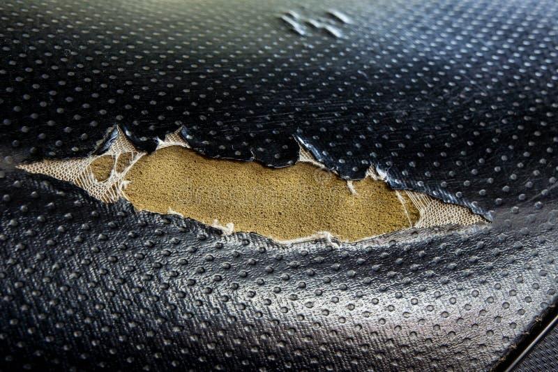 för illustrationläder för 10 eps vektor för upholstery Läderplatsen är sliten ut royaltyfri bild