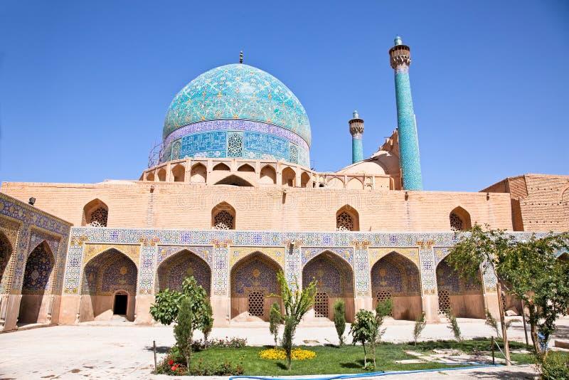 för imamjame för abbasi härlig moské arkivfoton