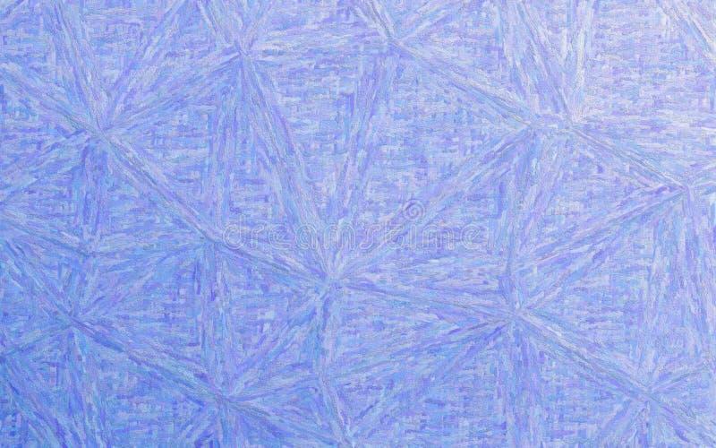 För Impasto för impressionism för koboltblått illustration bakgrund stock illustrationer
