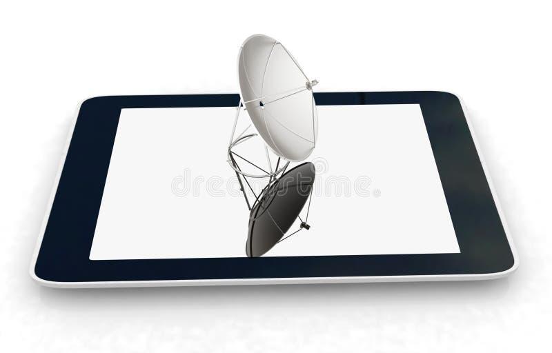 för internetmobil för begrepp hög hastighet royaltyfri illustrationer
