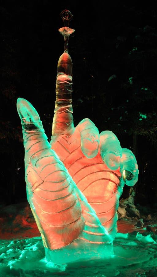för islifes för kundutbildning balansera skulptur arkivbild