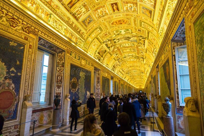 för italy för dubbel spiral rome museum trappuppgång vatican arkivfoto