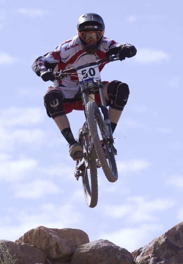 för Kanada för 2009 cyklar uci för berg dekan tennant royaltyfri fotografi