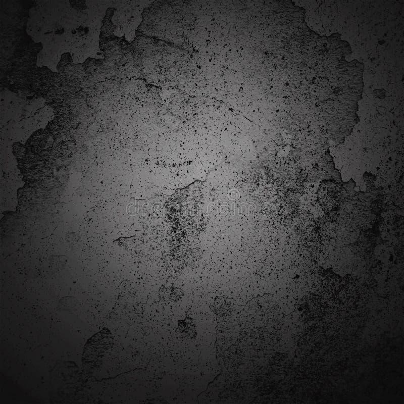 För karaktärsteckninggräns för abstrakt bakgrund mörk ram med grå texturbakgrund Stil för tappninggrungebakgrund fotografering för bildbyråer