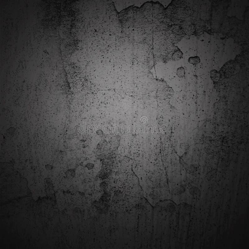 För karaktärsteckninggräns för abstrakt bakgrund mörk ram med grå texturbakgrund Stil för tappninggrungebakgrund royaltyfria bilder