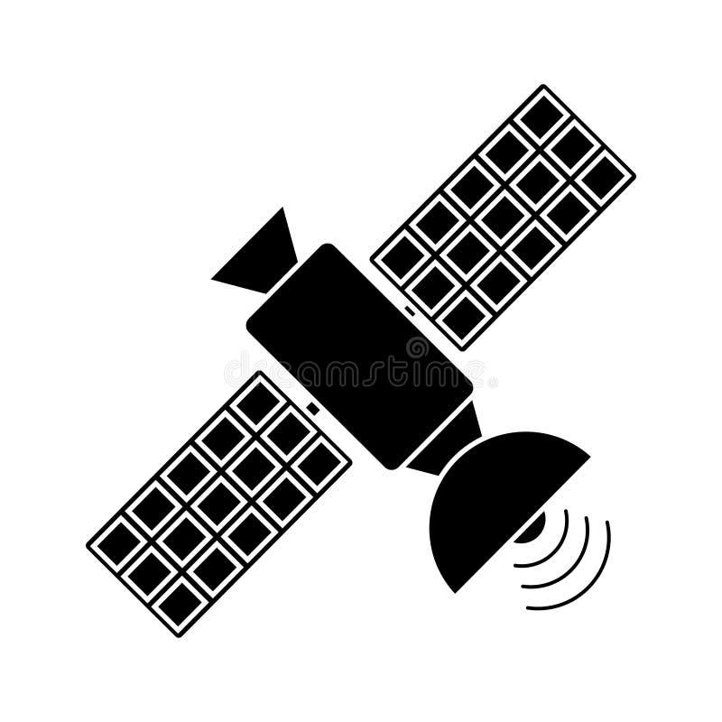 för kommunikationsradio för satellit- antenn pictogram vektor illustrationer