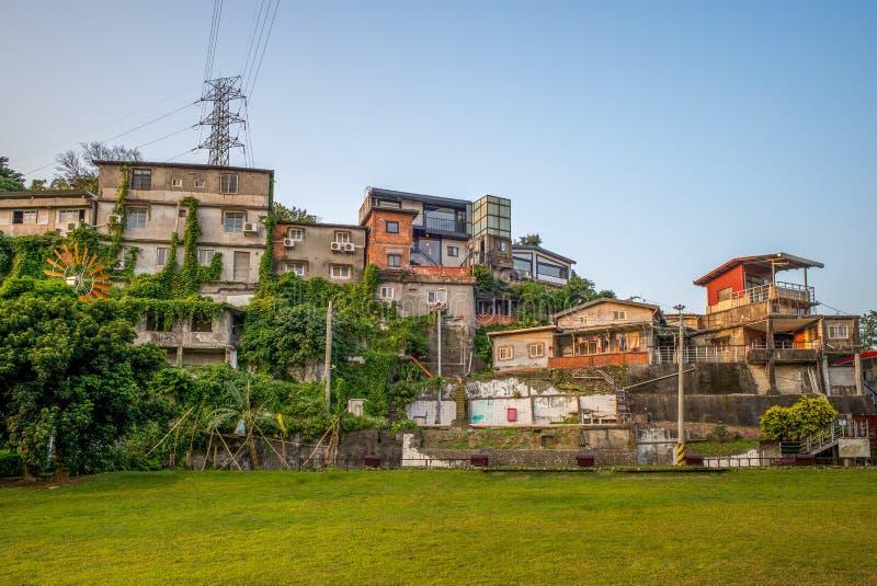 By för konstnär för Taipei skattkulle i Taipei, Taiwan fotografering för bildbyråer