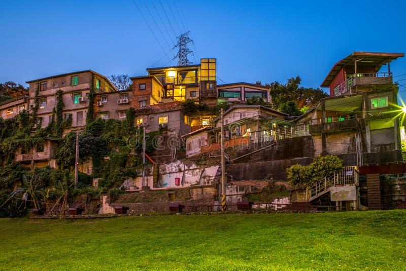 By för konstnär för Taipei skattkulle i Taipei, Taiwan arkivfoton