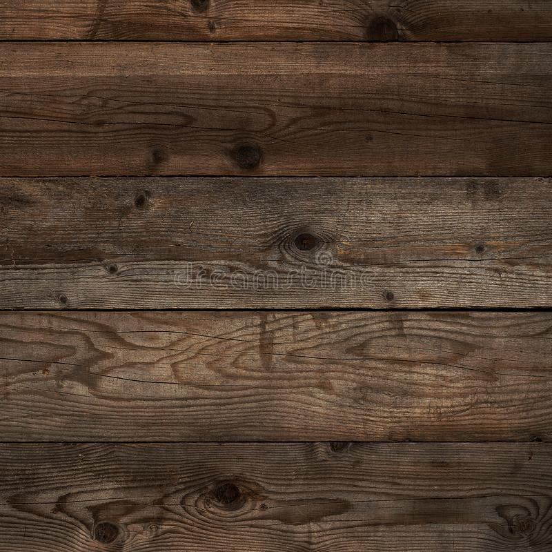 För kornbakgrund för gammal mörk golvtilja wood format för fyrkant arkivbild