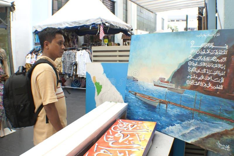 för Kuala Lumpur för konster central marknad malaysian arkivbild