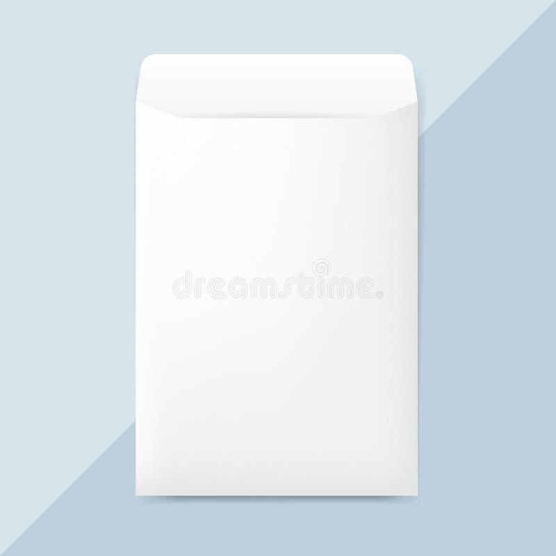 För kuvertdesign för vanligt papper vektor för modell vektor illustrationer