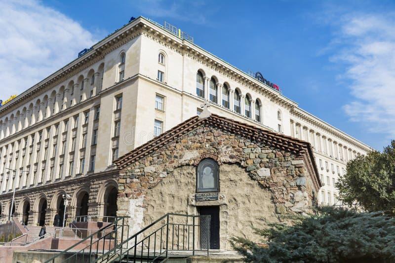 """För kyrka för St Petka Samardzhiyska††""""Sofia City arkivbild"""
