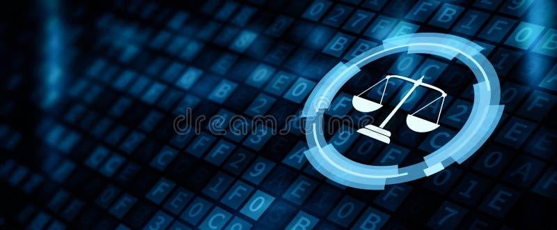 För Legal Business Internet för arbets- advokat för lag begrepp teknologi royaltyfria foton