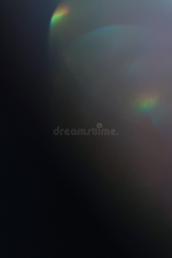 För linssignalljus för mjukt ljus enkla arty för sken för abstrakt begrepp royaltyfri foto