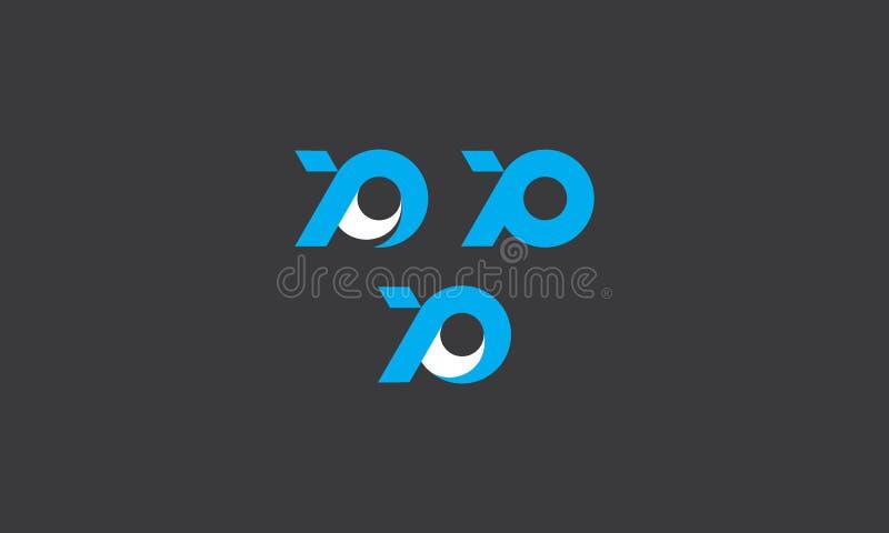 För logosymbol för fisk abstrakt vektor royaltyfri illustrationer