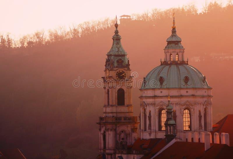 för ludmilaprague för domkyrka gotiskt tempel saint fotografering för bildbyråer