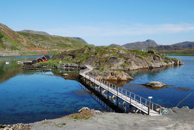 by för mageroya för fiskefjordö royaltyfri fotografi