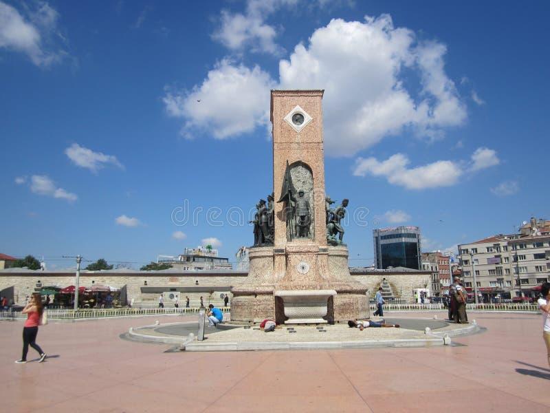 för mai-monument för 2011 22nd istanbul kalkon för taksim för republik för foto fyrkant tagen royaltyfria foton