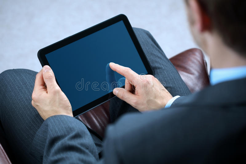 för mantablet för affär digital working