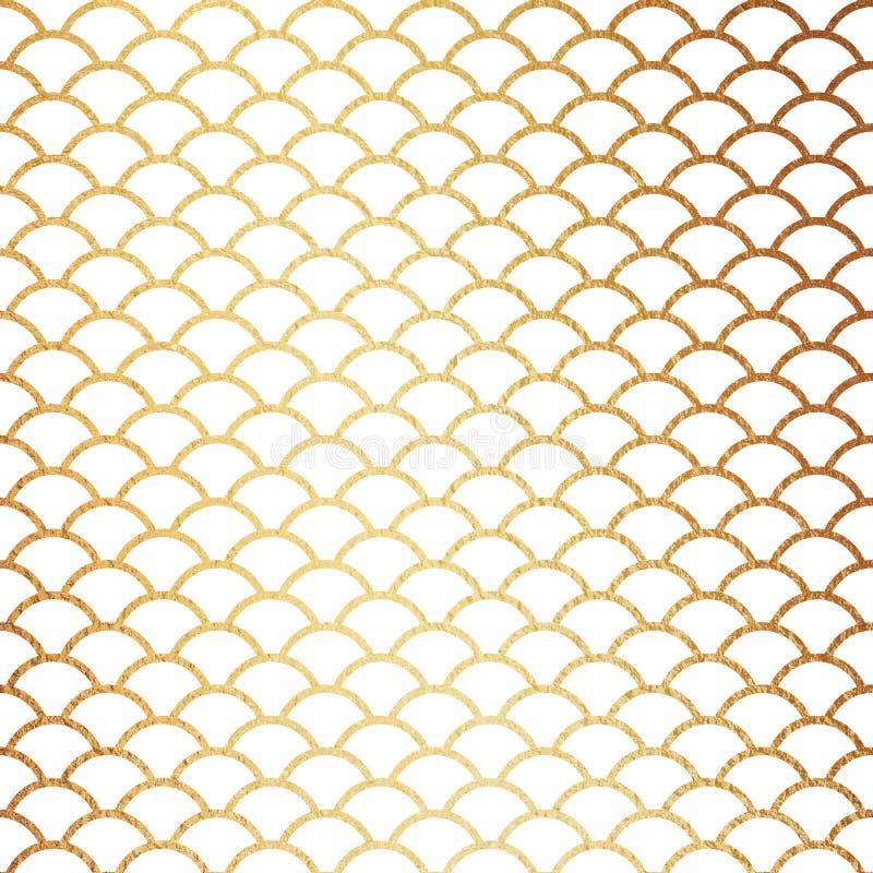 för modellbakgrund för 5000x5000px 300dpi lyxigt guld- Digital papper vektor illustrationer