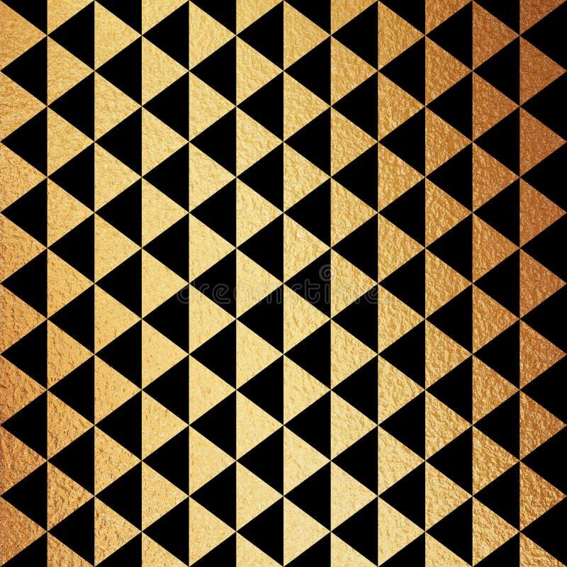 för modellbakgrund för 5000x5000px 300dpi lyxigt guld- Digital papper stock illustrationer