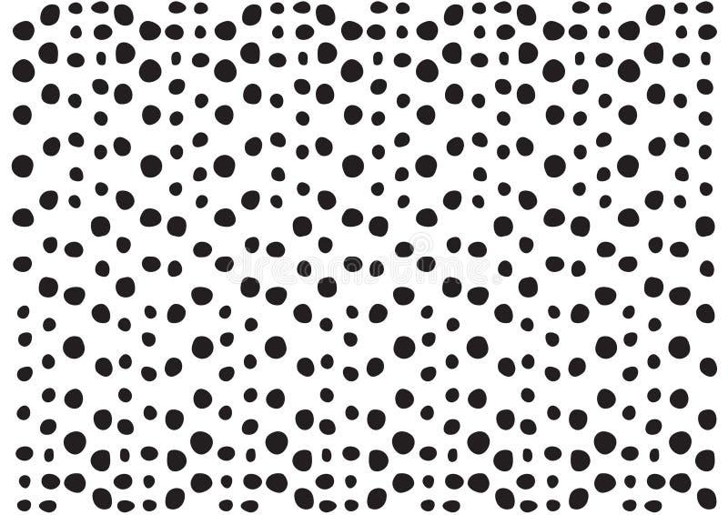 Download För Modelldesign För Prickar Svartvit Textur; Grafiskt Dekorativt För Tapet Och Bakgrund Vektor Illustrationer - Illustration av retro, kornigt: 78727347
