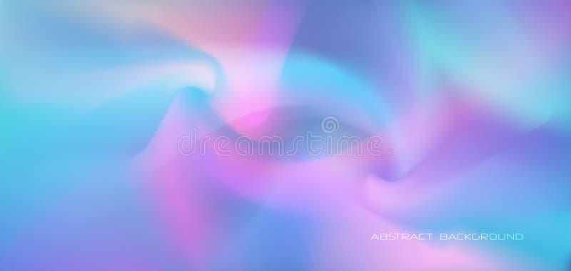 För moderiktig för vektor modern holographic vibrerande färgbakgrund grafisk design för affischen, baner, mall vektor illustrationer