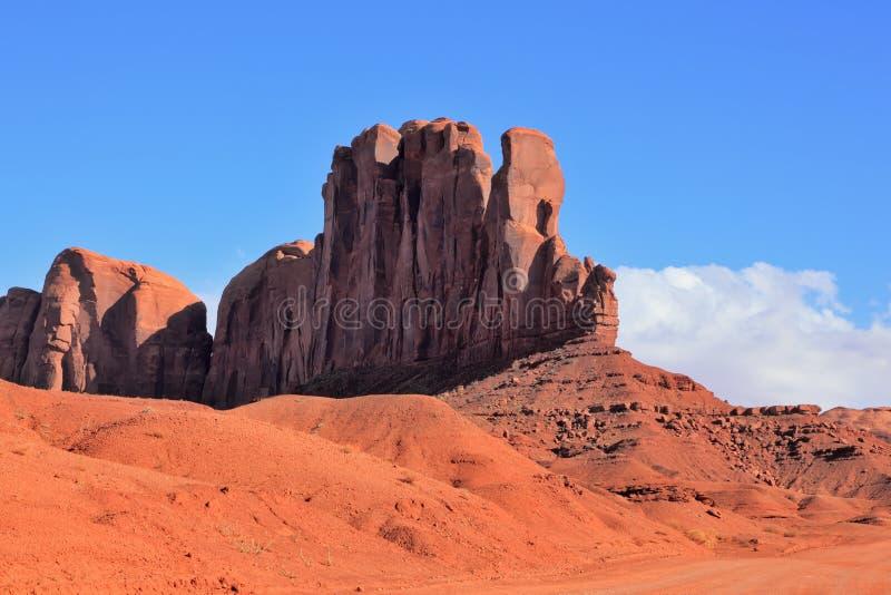 för monolitred för kamel berömd sandsten royaltyfria foton