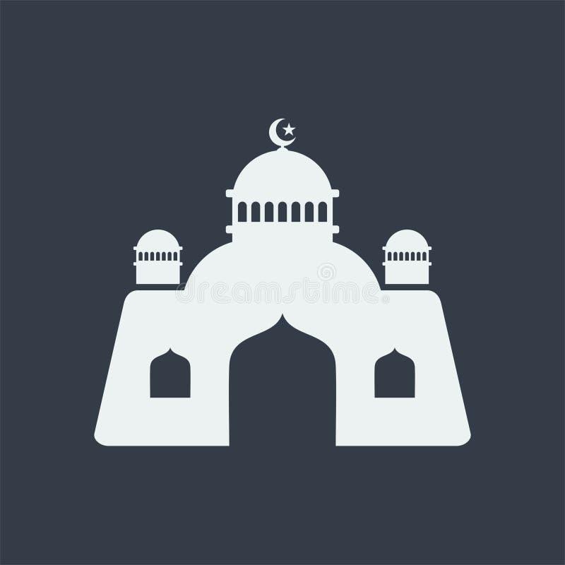 för muslimlättnad för moské islamisk design för lägenhet för konst, byggnad för seorengöringsdukdesign royaltyfria foton